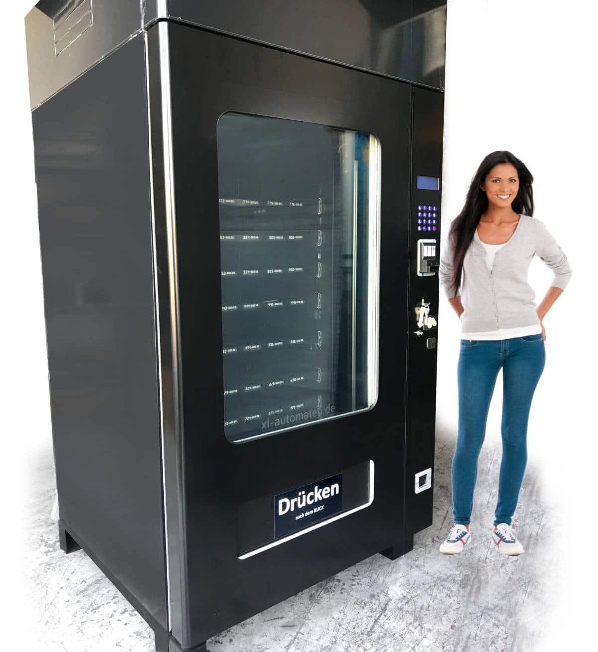Tiefkühlautomat für Pizza, Eis und Fertiggerichte